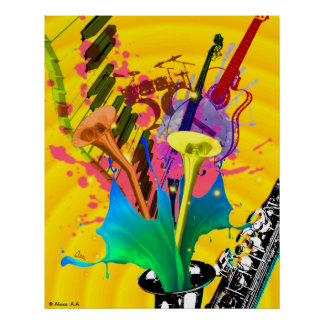 MUSIC 60 96x76 18 Posters