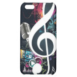 Music Abstract Collage iPhone 5C Covers