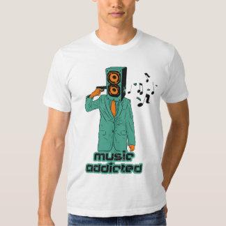 Music Addicted T Shirts