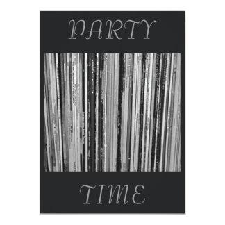 Music Albums/LP's  Party Time Invitation