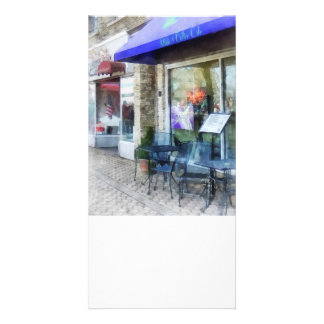Music And Coffee Cafe Picture Card