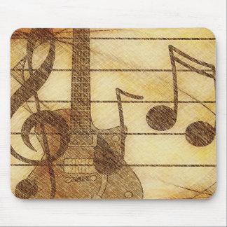 Music and Guitar Mousepad