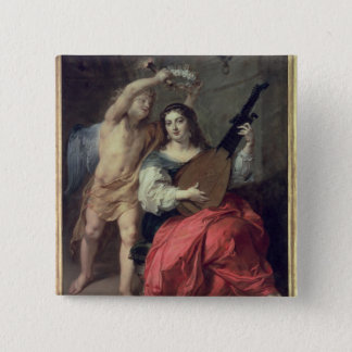 Music and Love, 1652 15 Cm Square Badge