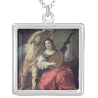 Music and Love, 1652 Silver Plated Necklace