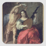 Music and Love, 1652 Sticker