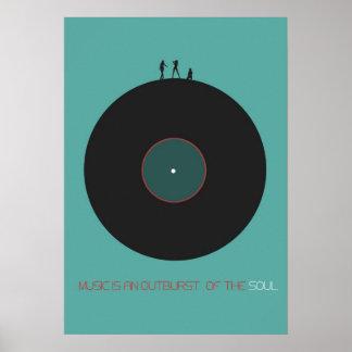Music Art Poster
