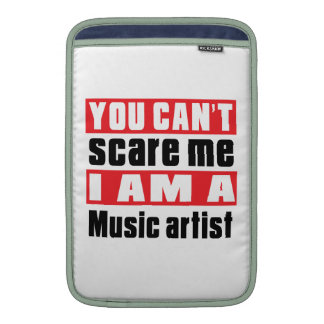 Music artist (occupation) scare designs MacBook sleeve