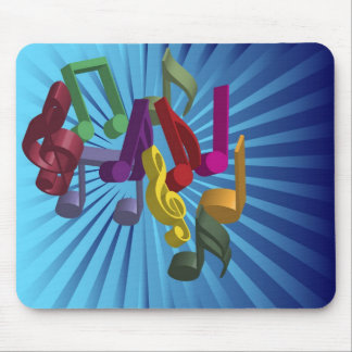 Music Background Mouse Mat
