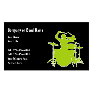 Music Band Business Cards
