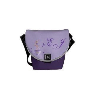 Music Box Ballerina Customizable Commuter Bag