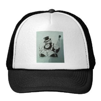 music boy mesh hat