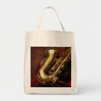 Music - Brass - Saxophone Canvas Bag