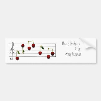 Music Bumper Sticker