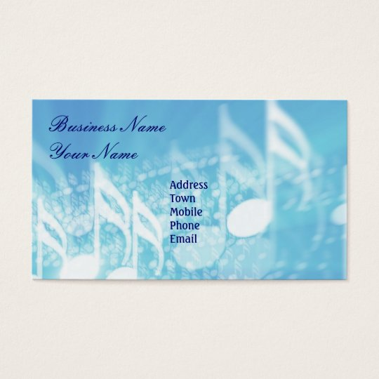 Music Business-Personal Card