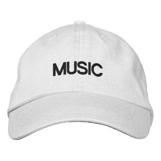 MUSIC CAP BASEBALL CAP