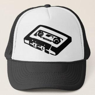Music Cassette Design Trucker Hat