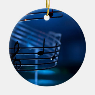Music Christmas Ornament