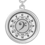 Music Circle of Fifths - Bass Clef version Jewelry