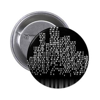 Music City 6 Cm Round Badge