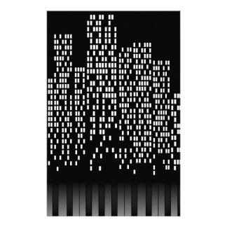 Music City Personalized Stationery