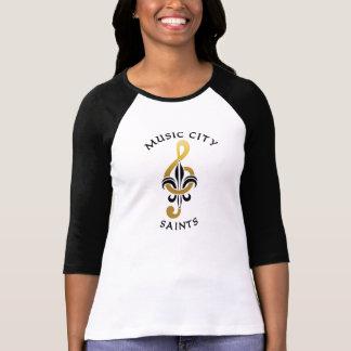 Music City Saints Baseball Team Nashville Tenn. T-Shirt
