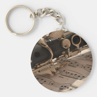 Music Clarinets Musical Notes Destiny Dance Fun Key Ring