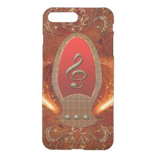 Music, clef made of diamond iPhone 7 plus case