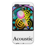 Music Clip Art Text Underneath Template Cover For iPhone 4