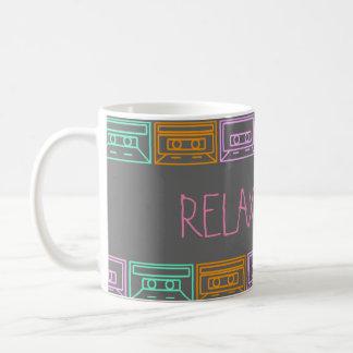 Music&Coffe= Relax Coffee Mug