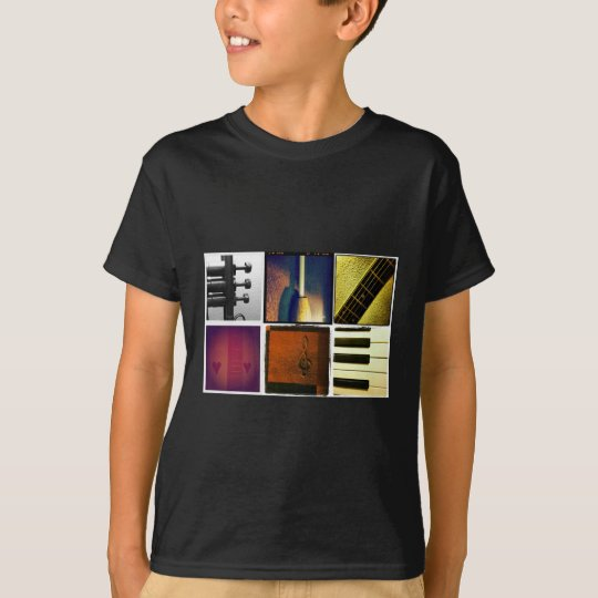 Music Collage T-Shirt