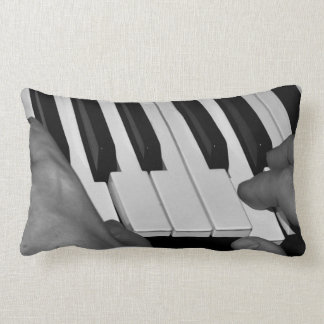 Music Collection - The Piano Player Lumbar Pillow