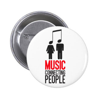 Music Connecting People Buttons