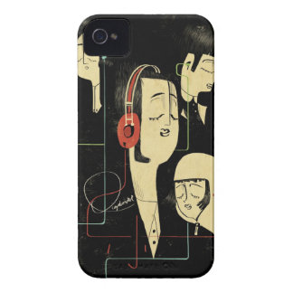Music Connects People iPhone 4 Covers