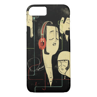 Music Connects People iPhone 7 Case
