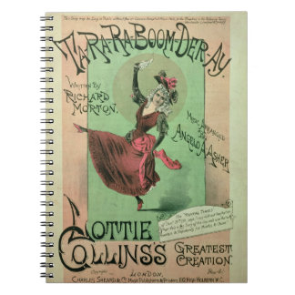 Music Cover for Ta-Ra-Ra-Boom-Der-Ay, published by Notebook