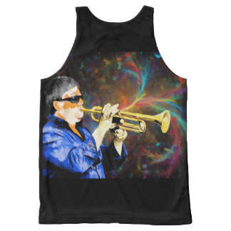 Music Custom All-Over Printed Unisex Tank All-Over Print Tank Top