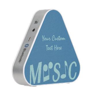 MUSIC custom bluetooth speaker