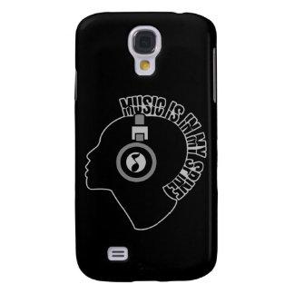 Music custom color HTC case