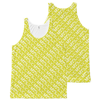MUSIC custom color tanktop All-Over Print Tank Top