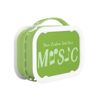 MUSIC custom lunch boxes