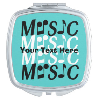 MUSIC custom pocket mirrors Vanity Mirror