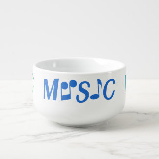 MUSIC custom soup bowl