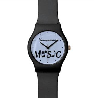 MUSIC custom watches