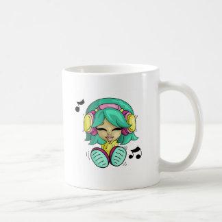 Music cutie basic white mug
