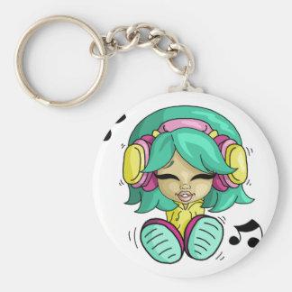 Music cutie keychain