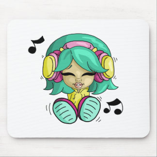 Music cutie mouse pads