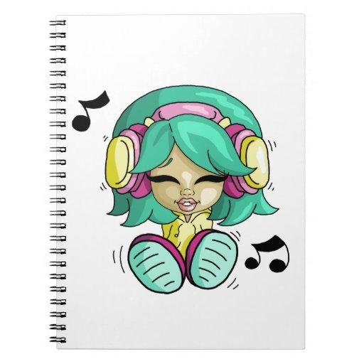 Music cutie journals