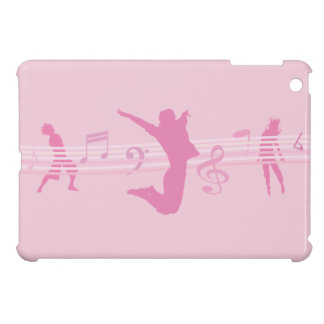 Music Dance and Drama Pink iPad Mini Covers