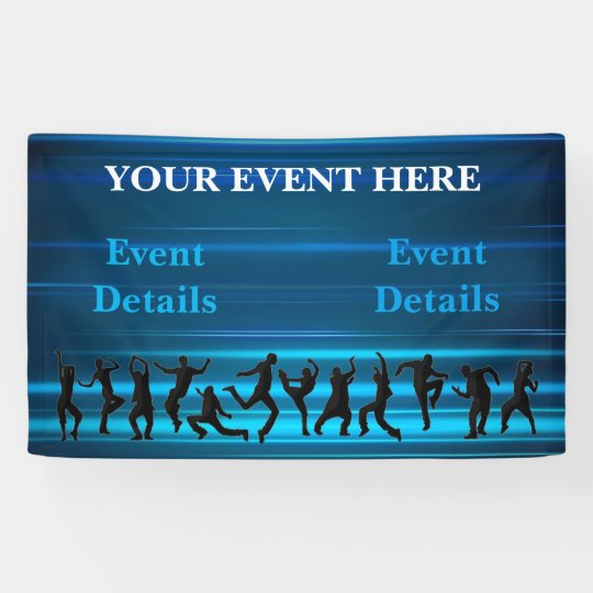 Music, Dance, Party Template Banner