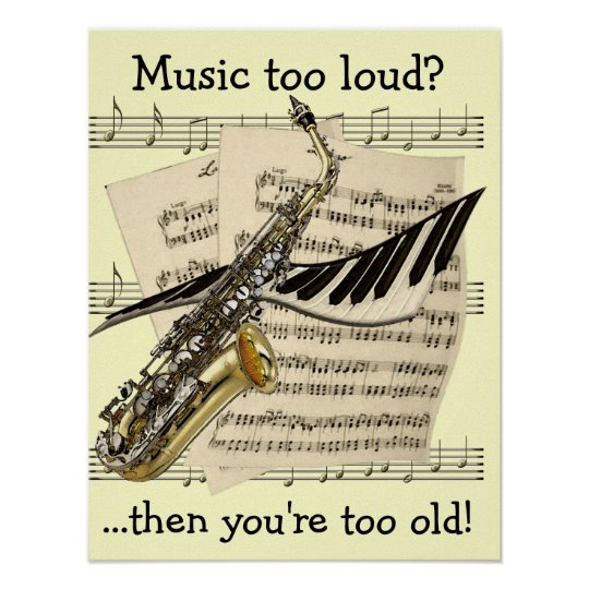 Music Design Customisable Poster